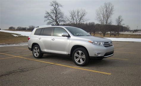 2013 Toyota Highlander Dimensions 2013 Toyota Highlander Review Ratings Specs Prices And