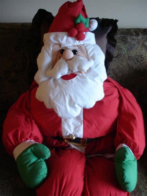 size stuffed santa like new set of size stuffed santa mrs