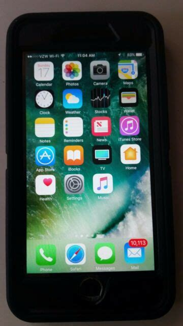 apple iphone 7 plus 128gb jet black verizon a1661 cdma gsm ebay