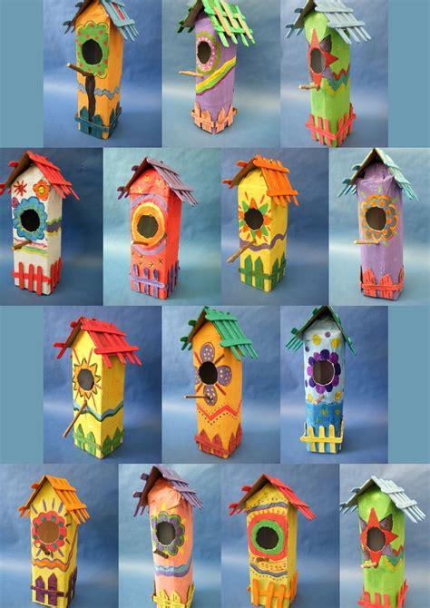 Vogelhaus Basteln Mit Kindern by Houses Bastelideen F 252 R Vogelh 228 User