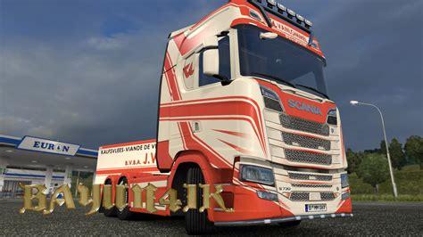 vanlommel skin pack  ets euro truck simulator  mods