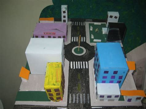 maquetas de ciudades con material de reciclaje maqueta con cartones reciclados para ni 241 os boludeces