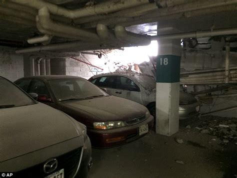 structure in watergate garage collapses 1 person injured