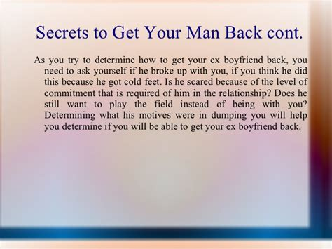 up letter to get your ex back need to convince your to take you back discover the