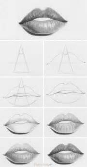 tutorial how to draw lips a very simple way to draw lips