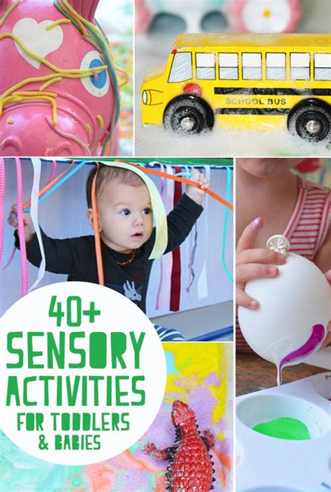 all about that baby play 40 plus awesome sensory play activities for babies and
