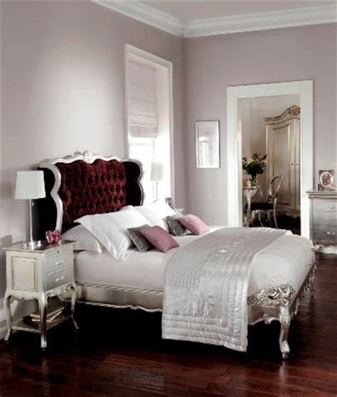cristal silver leaf button bed crown furniture