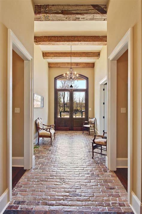 beautiful floors beautiful entance hallway brick floor troyer builders