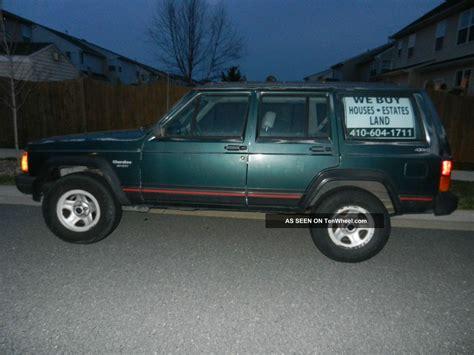 1994 Jeep Sport 1994 Jeep Sport Sport Utility 4 Door 4 0l