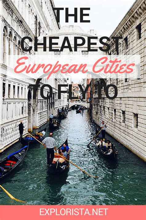 the cheapest european cities to fly to