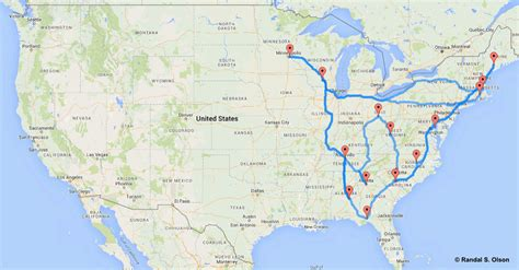 map of us states driving usa s ultimative road trip