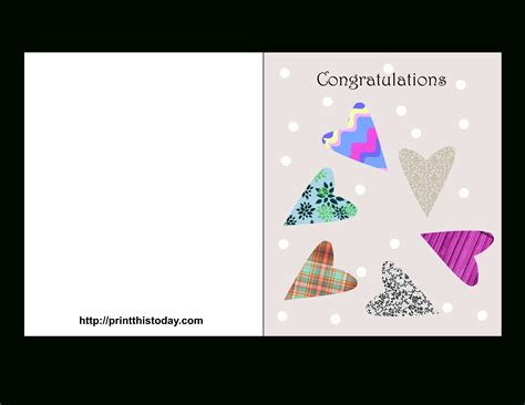 congratulations baby card template free congratulation card template resume builder