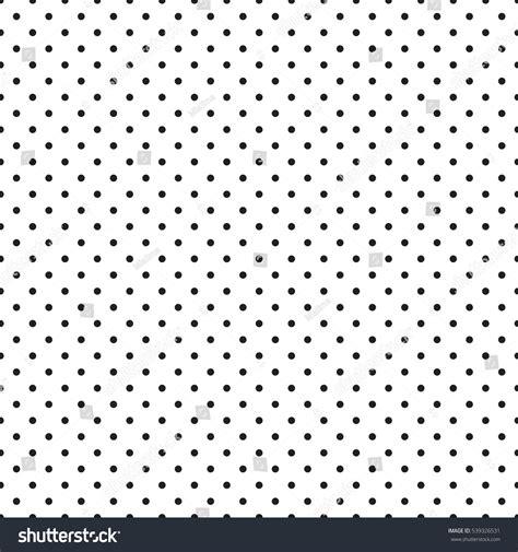 Monochrome Polka Seamless Monochrome Polka Dot Pattern Dotted Stock Vector