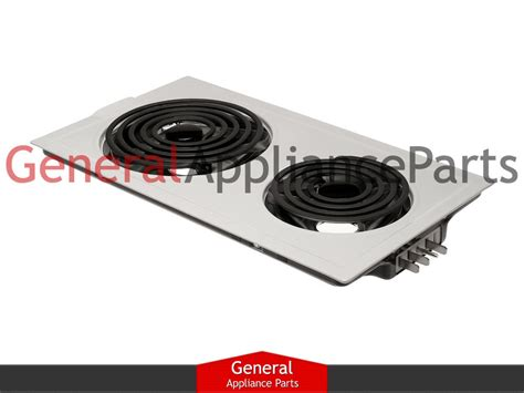 Electric Drop In Cooktop Jenn Air Designer Line Cooktop White Electric Coil Element