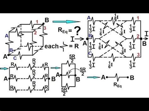 1 ohm resistor cube physics ohm s and resistor circuits 8 of 18 resistors in a cube 1