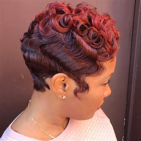 african american short hair cuts with soft waves 50 most captivating african american short hairstyles and