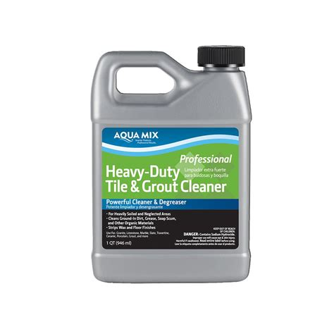 Grout Cleaning Solution Custom Building Products Aqua Mix 1 Qt Heavy Duty Tile And Grout Cleaner 010382 4 The Home Depot