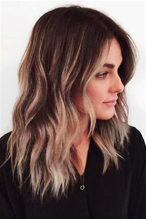 mid length hair cuts longer in front best 25 trendy medium haircuts ideas on pinterest