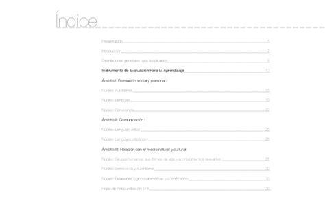 Modelo Curricular Junji Iepa Instrumento De Evaluaci 243 N Para El Aprendizaje