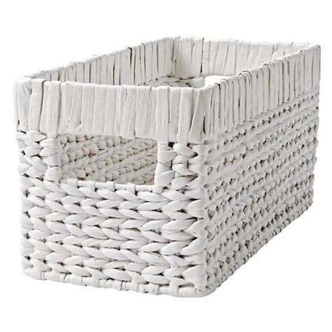 Changing Table Basket Small White Wonderful Wicker Changer Basket The Land Of Nod
