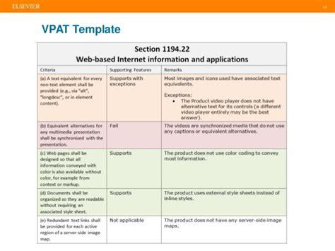 vpat template csun 2017 vpats for business or measure