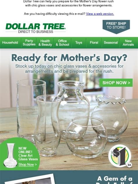 dollar tree s day dollar tree help your customers show how much they