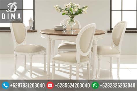 Meja Makan Oval 6 Kursi meja kursi makan minimalis murah duco terbaru model oval