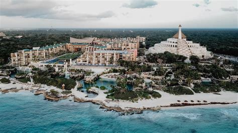 hotel xcaret mexico shot  iphone   zhiyun smooth   dji mavic pro youtube