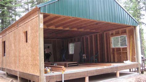 Pole Barn Cabin Plans by Pole Barn Cabin Small Cabin Forum