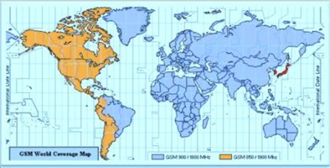 gsm coverage map usa international cell phone service tips tricks cellular