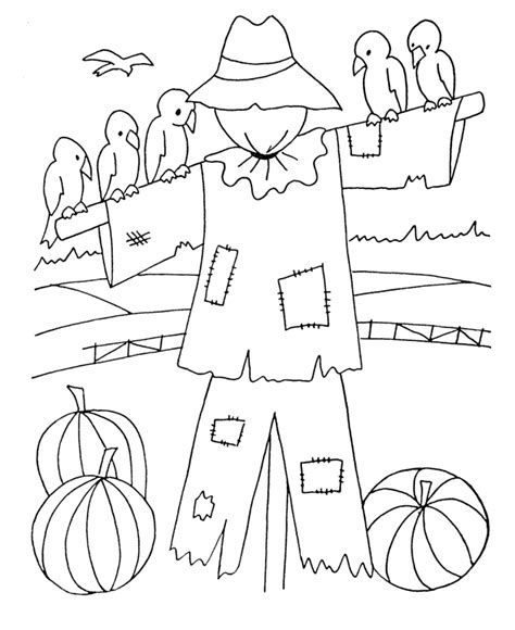 coloring pages scarecrow printable free printable scarecrow coloring pages for kids