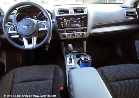 subaru outback black interior 2015 outback interior photographs and images
