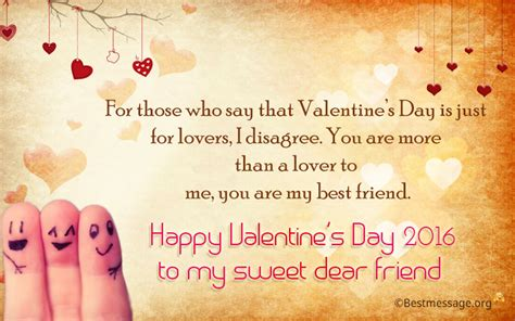 happy valentines day best friend quotes messages wishes message