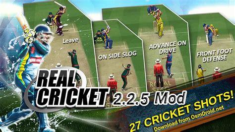 game mod apk obb real cricket 2 2 5 apk obb data modded unlocked unlimited