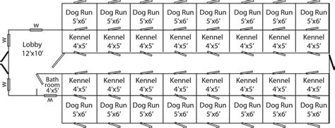 dog kennel floor plans large dog kennels and dog runs traditional commercial