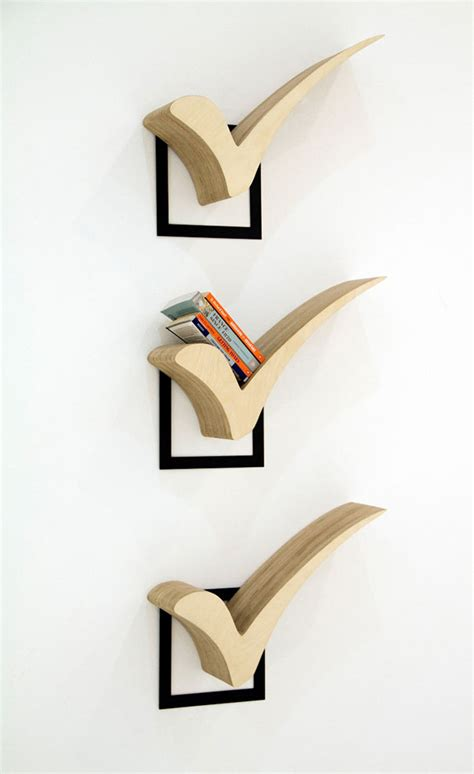 bookcases wodden material check creative bookshelves