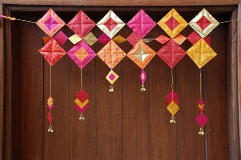 How To Make Toran With Paper - deck up with these 5 recycling ideas for your diwali home