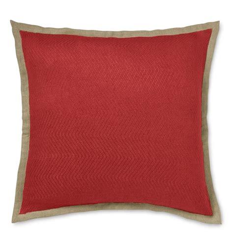 Williams Sonoma Pillows chunky herringbone linen pillow cover williams sonoma