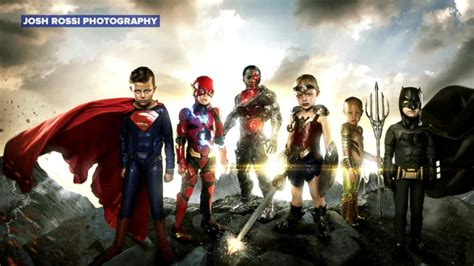 justice league news rumeurs actucine com photographer turns kids with disabilities into justice