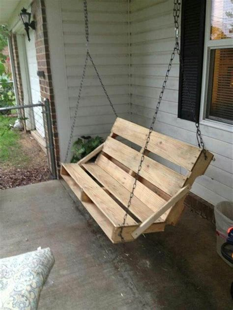 home made swing 40 diy pallet swing ideas 99 pallets