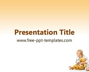 Free Powerpoint Templates Free Powerpoint Templates Pediatric Ppt Templates Free