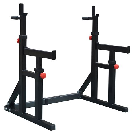 Squat Rack With Spotters by Dkn Squat And Dip Rack With Spotter Catchers