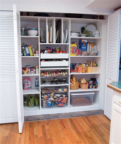 Kitchen Pantry Closet Organizers by Kitchen Pantry Organizers Kitchen With Closet