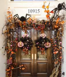 How To Decorate Your Door For Halloween Decorating Your Front Door For Halloween Doors By Design