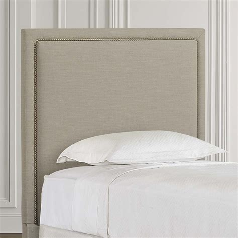 Rectangular Twin Headboard Upholstered Twin Headboards