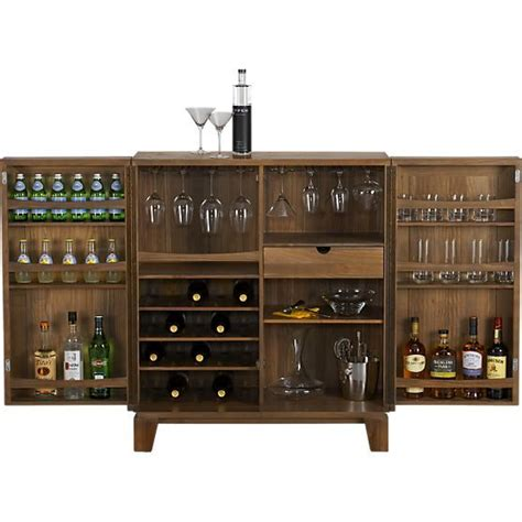 crate and barrel wine cabinet marin natural bar cabinet crate and barrel cabinets and
