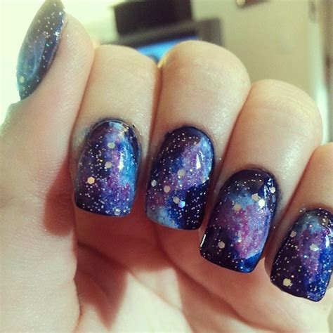 Galaxy Nail Design 25 galaxy nails pictures out of this world
