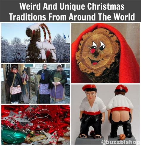strange fun and unique christmas traditions from around