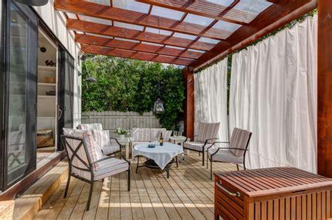 cortinas para terraza cortinas para terrazas modernas las 250 ltimas tendencias