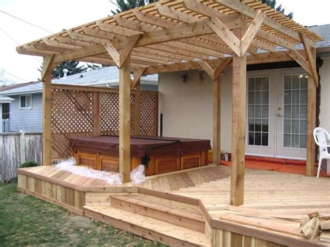 255 Best Images About Wooden Gazebo Kits On Pinterest Deck With Pergola Plans